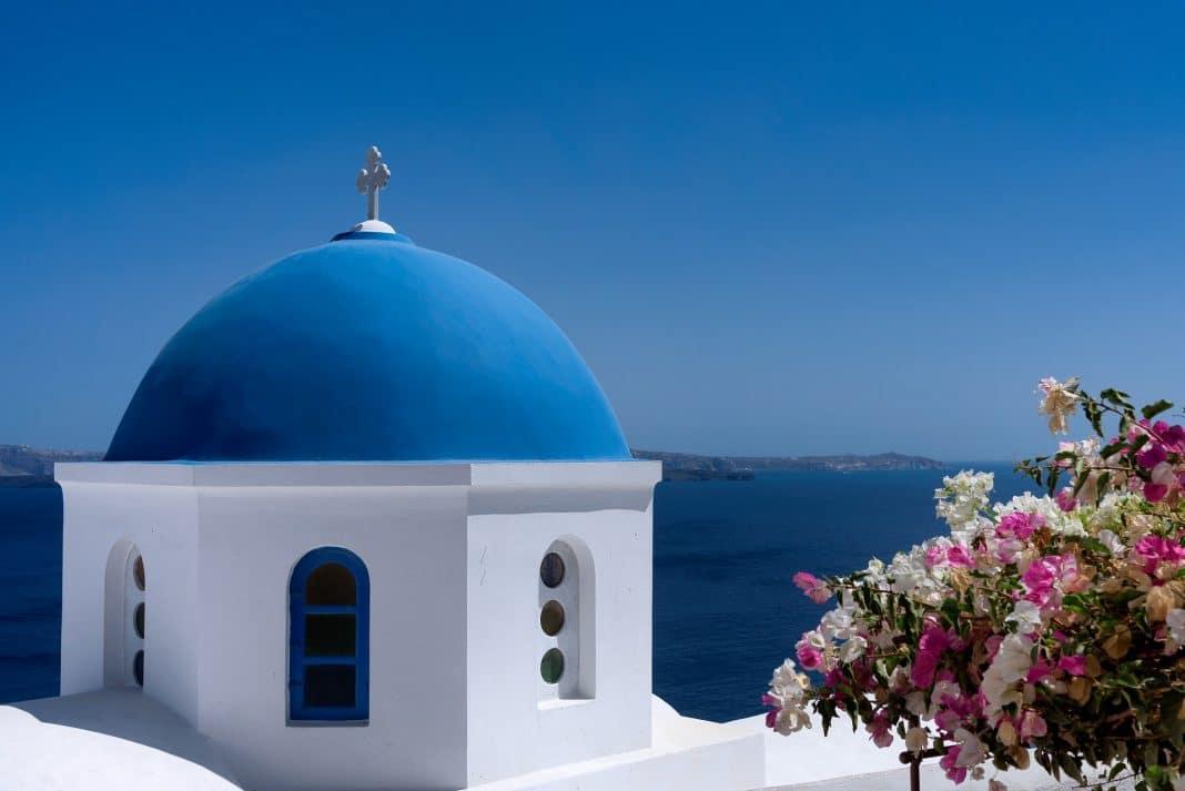 Les églises de Santorin