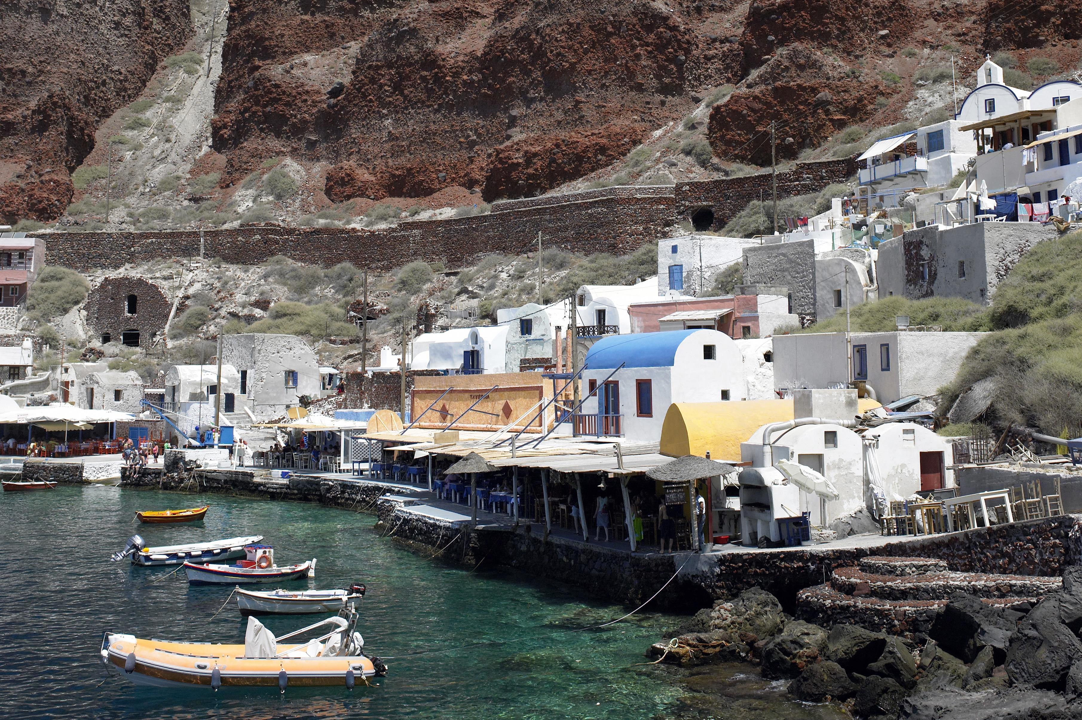 Le port d'Oia