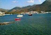 L'île d'Amorgos dans les Cyclades