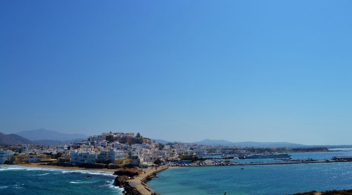 L'île de Naxos dans les Cyclades